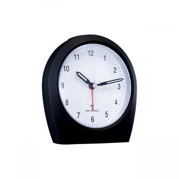 Funkwecker - WT-758 - analog Uhr inkl. Wecker mit Snooze - Funktion / Hintergrundbeleuchtung
