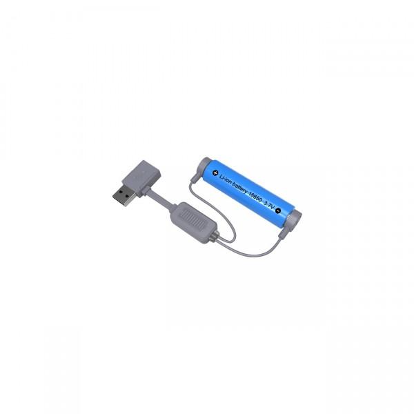 FOLOMOV A1 Magnetischer USB Lader für Li-Ion Akkus Entladefunktion - Powerbank