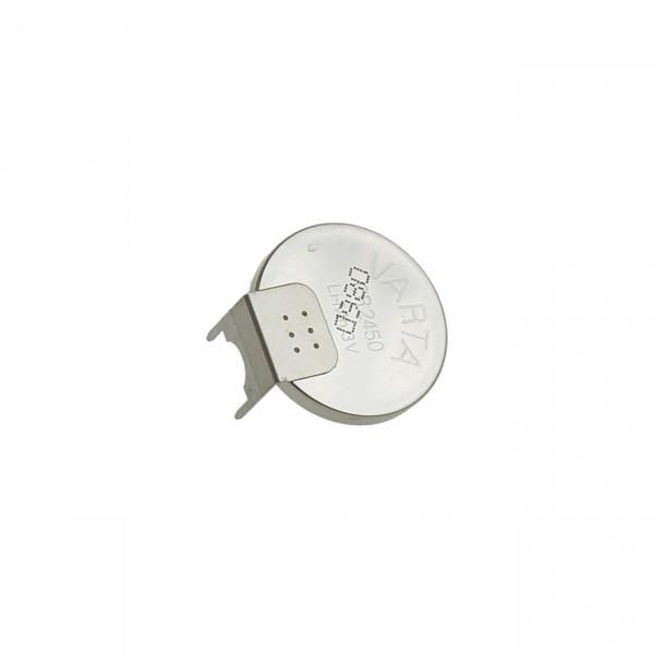 Varta Lithium Knopfzelle CR2450-PCB3 Print 2/1 Pin - 3V / 620mAh - 3 Volt Lithium Batterie