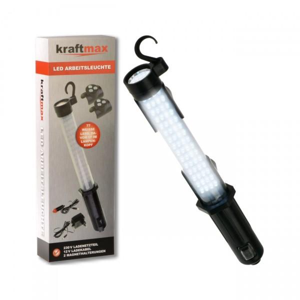 Kraftmax W1000 Hochleistungs-LED-Akku-Arbeitsleuchte kabellos und aufladbar