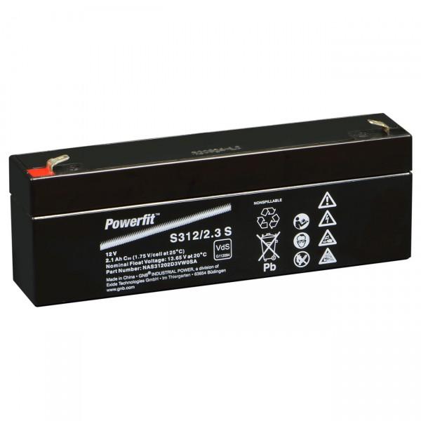 Sonnenschein Powerfit S312/2,3S Faston 4,8 VdS Zulassung