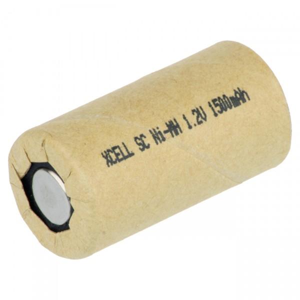 XCell Sub C Akku - 1,2V / 1500mAh / NIMH - X1500SCR/PP