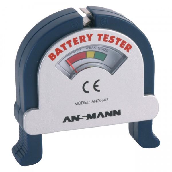 Ansmann Batterietester für Knopfzellen und Rundzellen