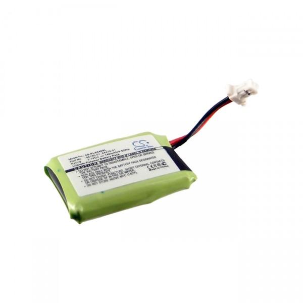 Headset-Akku für Plantronics CS540 / CS540A 86180-01, 84479-01