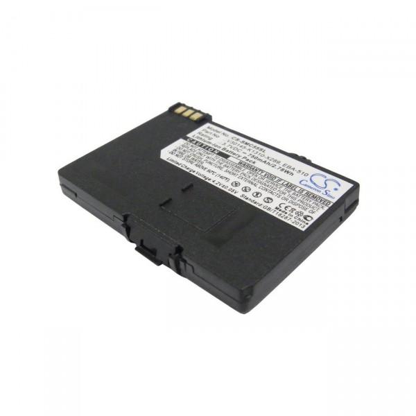 Handy Akku Li-Ion 3,7V / 750mAh Siemens C55 / S55 / A55 / SC60 / CL60 B6855 MC60 / M55 / A57 / A65 /