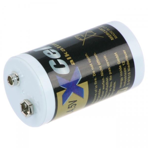 Lounge Light LED Alkaline Batterie 4,5V mit Kronenanschluss