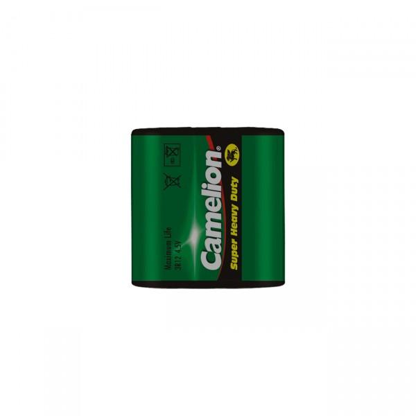 Camelion 3R12 Zink-Kohle Flachbatterie - 4,5V / 2000mAh / Zn/C - 4,5 Volt 3R12 Batterie