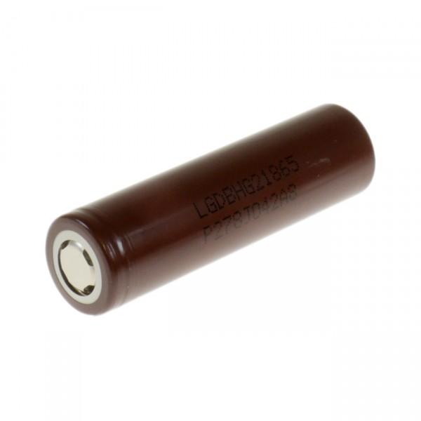 LG INR18650HG2 - 3,6V / 3000mAh - Lithium 18650 Akku - 18650 Akku inkl. Premium Akkubox