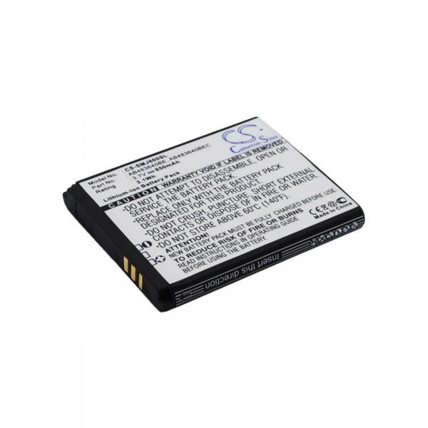 Handyakku Li-Ion 3,7V / 850mAh für Samsung SGH-S8300 AB533640BE