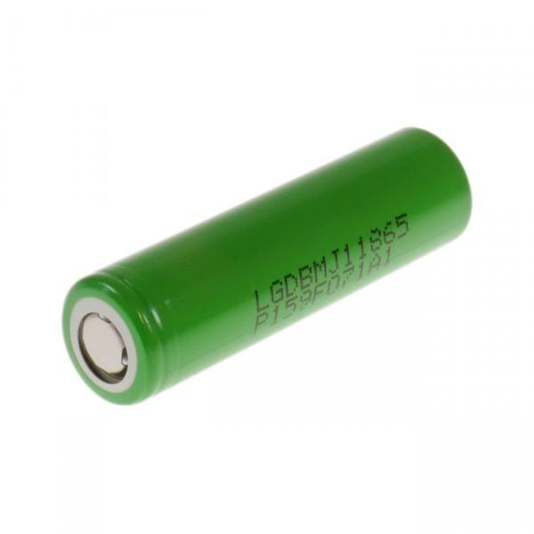 LG INR18650 MJ1 - Li-Ion Akku - 3,6V / 3500mAh - 10 A - Hochstromakku