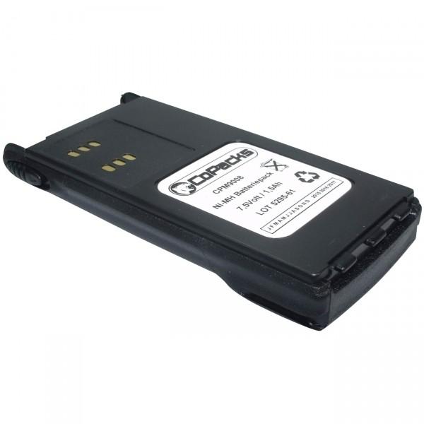 Funkakku für Motorola GP320 / 340 / 360 / 380 / 680 B589008 / HNN9008 / HNN9013 943AKB