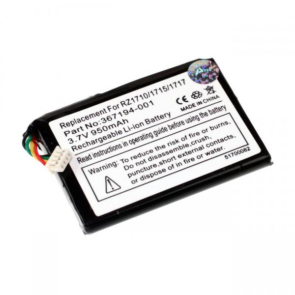 PDA Akku für HP-Compaq iPaq rz1700/rz1710