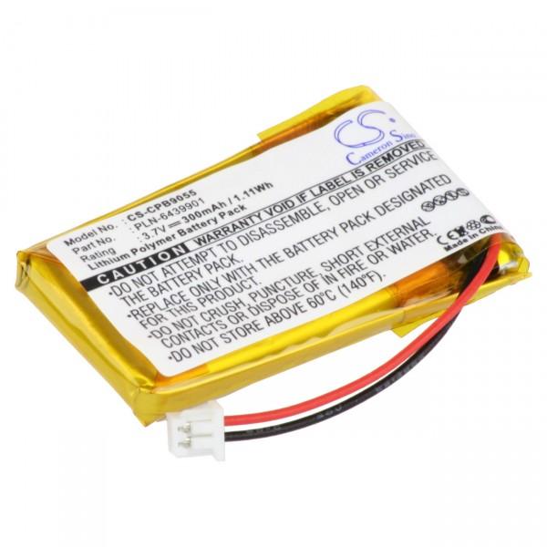 Headset-Akku passend für Plantronics CS50/CS60/C65 B511007 65358-01
