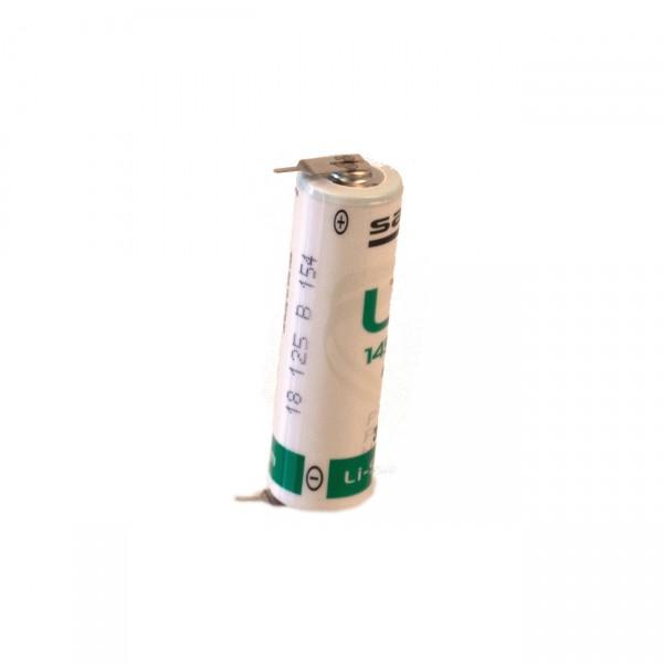 Saft Lithium 3,6V LS14500-2PF Mignon AA Batterie - 3,6V / 2600mAh / Lithium