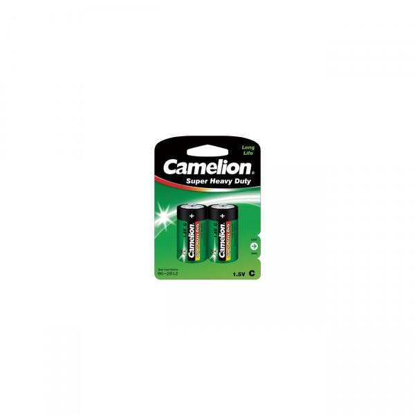 Camelion R14 Zink-Kohle Baby Batterie 2er Blister