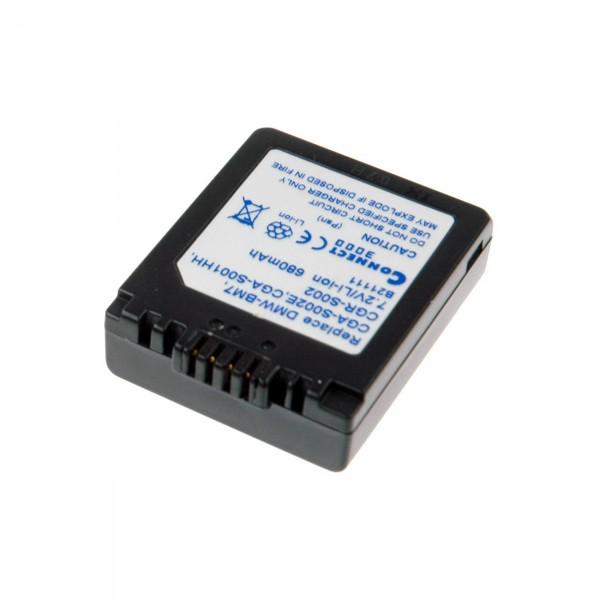 Digicamakku Li-Ion 7,2V / 500mAh Panasonic Lumix FZ1 (DMW-BM7) B21111