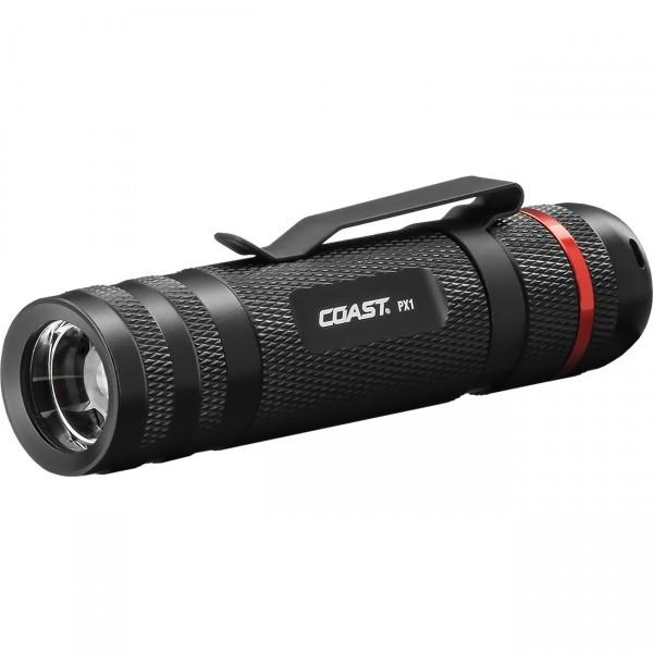 Coast LED Taschenlampe PX1 - fokussierbare Outdoorlampe / Campinglampe inkl. Batterien