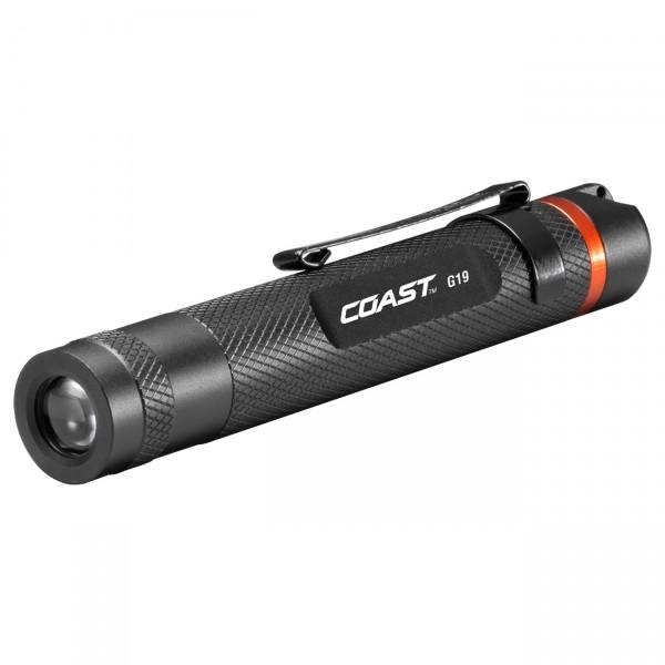 Coast LED Taschenlampe G19 - Outdoorlampe / Inspektionslampe inkl. Batterien