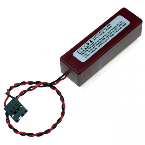 Lithoguard 1LS14500 Saft - T1AA-C - 3,6V / 2450mAh / LiSOCI2 - 3,6 Volt AA Mignon Industrie Akku