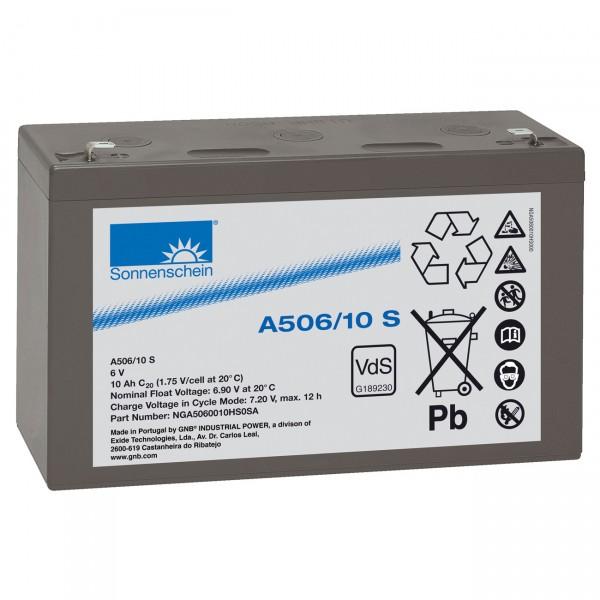 Sonnenschein Dryfit A506/10.0S Faston 4,8 VdS Zulassung