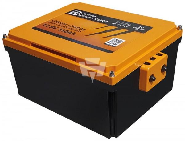 Liontron LiFePO4 Akku 12V / 12,8V 150Ah Wohnmobil Untersitz Batterie mit Bluetooth