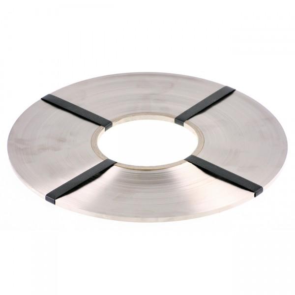 Schweißband aus Hilumin 3 x 0,15 mm auf Rolle - ca. 1,5 kg/Rolle, Ø Kernloch 100 mm