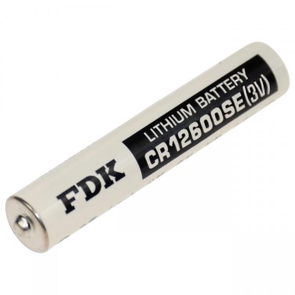 FDK Lithium 3V Batterie CR 12600SE - Zelle - 3V / 1500mAh / 3 Volt Lithium - CR 2NP
