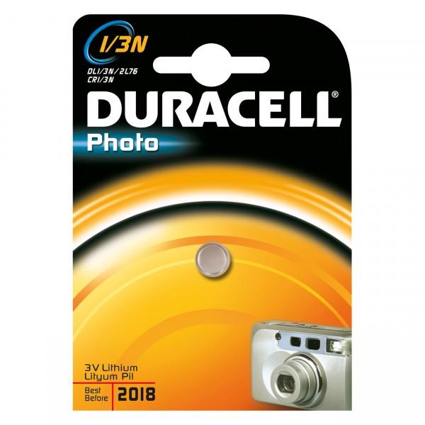 1er Blister Duracell Photobatterie CR1/3N Lithium - 3V / 160mAh - 3 Volt Power Photo Batterie