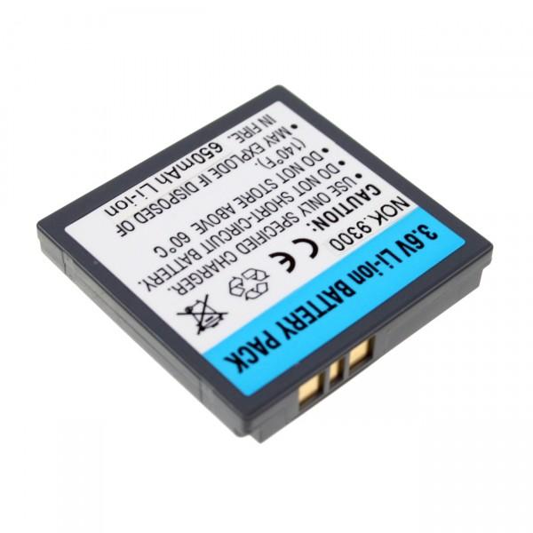 Handyakku Li-Ion 3,7V / 700mAh für Nokia 9300/6280 BP-6M