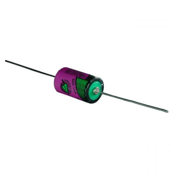 Tadiran Lithium Batterie - SL 750/P- 1/2AA - Zelle - 3,6V / 1100mAh - Batterien mit Axialdraht