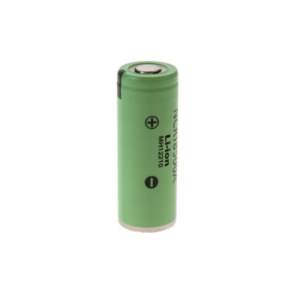 Panasonic NCR18500A / NCR18500 - Li-Ion flattop Akku - 3,6V / 2040mAh