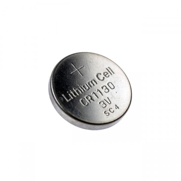 Lithium-Knopfzelle CR1130 Lithium - 3V / 48mAh - 3 Volt BlackFox CR 1130 Batterie