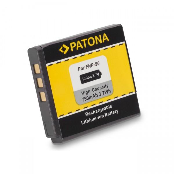 Digicamakku Li-Ion 3,7V / 750mAh für Fujifilm Finepix F50FD