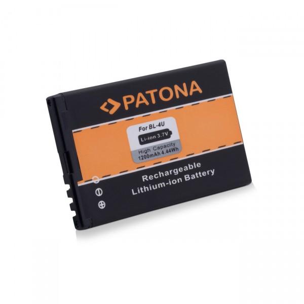 Handyakku Li-Ion 3,7V / 1200mAh f. Nokia E66 / E75 / C5-03 BL-4U