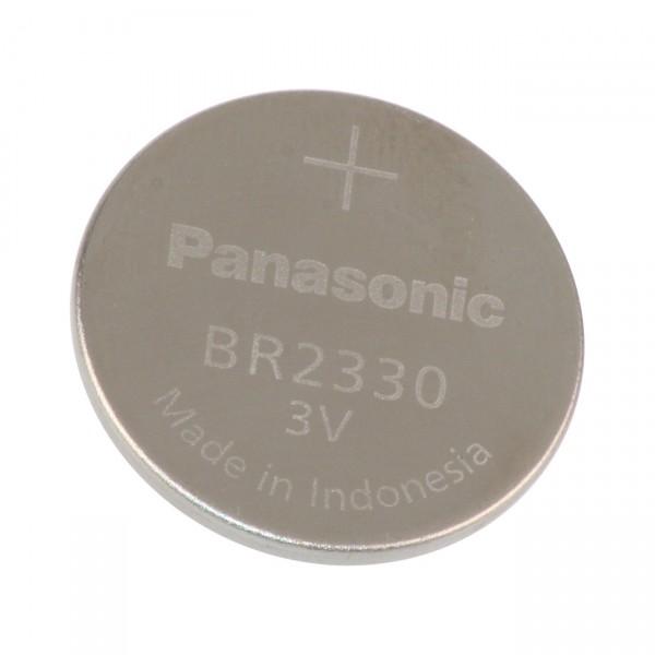 Panasonic Lithium Knopfzelle BR2330/BN Lithium 3V / 255mAh