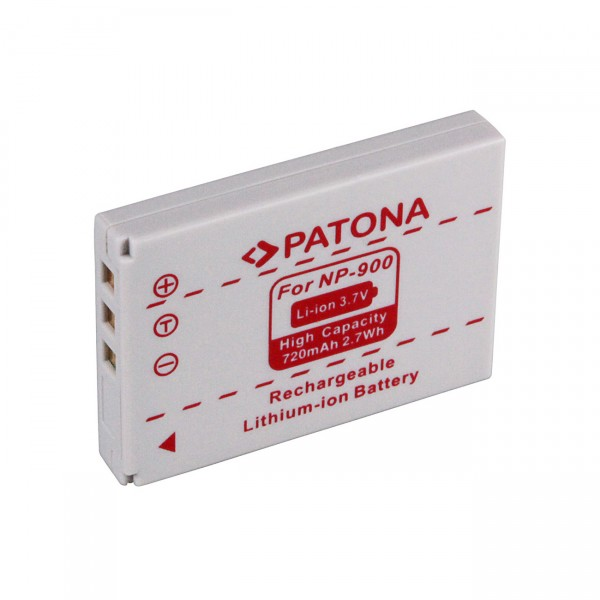 Digicamakku Li-Ion 3,7V / 720mAh Minolta Dimage 40/50/NP900 B22420/Rollei DP4200/Avant S4