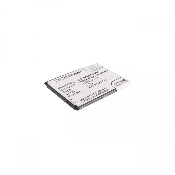 Handyakku für Samsung - 3,7V / 1500mAh / Li-Ion - Handy Akku für Samsung Galaxy S3 Mini EB-F1M7FLU