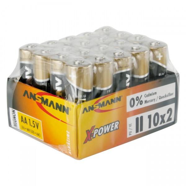 Ansmann LR06 X-POWER Mignon Batterie 2er Folie
