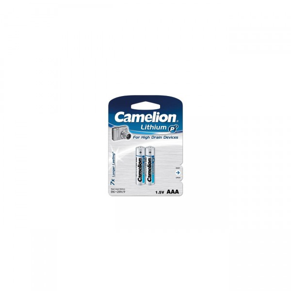 Camelion Lithium Batterie AAA