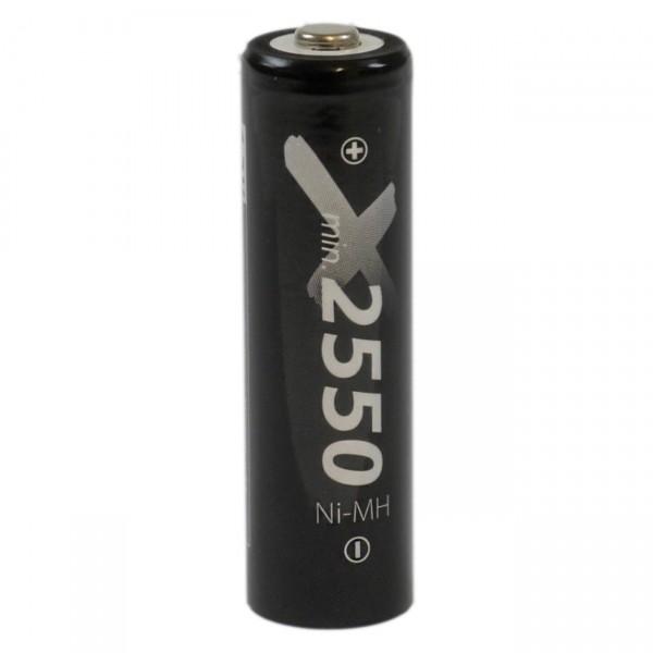 XCell LSD Plus Mignon Akku 1,2V / 2550mAh / NIMH - 1,2 Volt AA Ni-MH low self-discharge Akkus