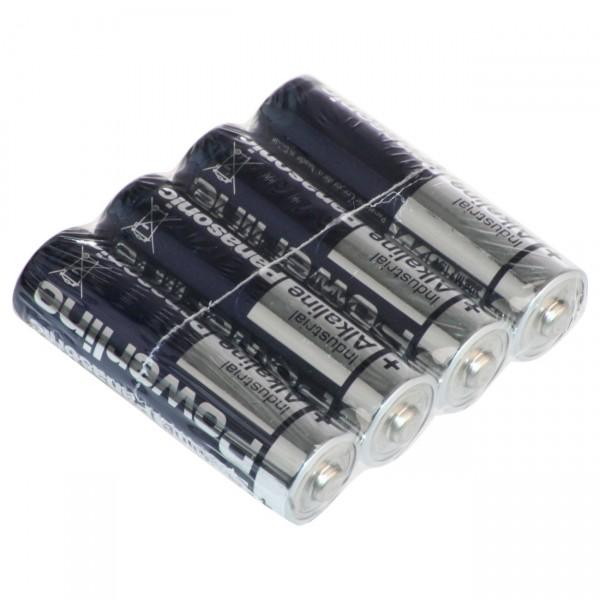 48x 4er Pack 1,5V Panasonic LR6 Powerline Mignon AA Batterien - 1,5 Volt Alkaline