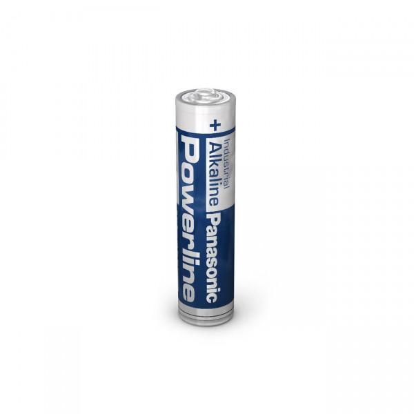 500x 1,5V Panasonic Powerline LR03 Micro AAA Batterien - 1,5V / 1383mAh -1,5 Volt Alkaline