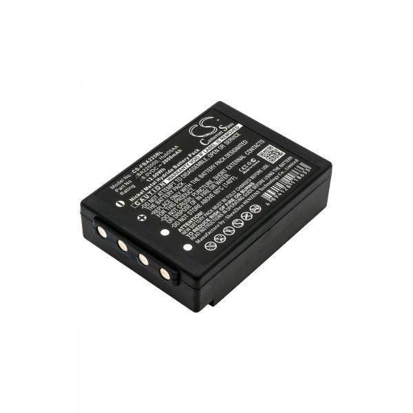 Ersatz Akku für Funkfernsteuerung - 6V / 2000mAh / Ni-Mh - BA225030 BA206030 BA225000 BA225030