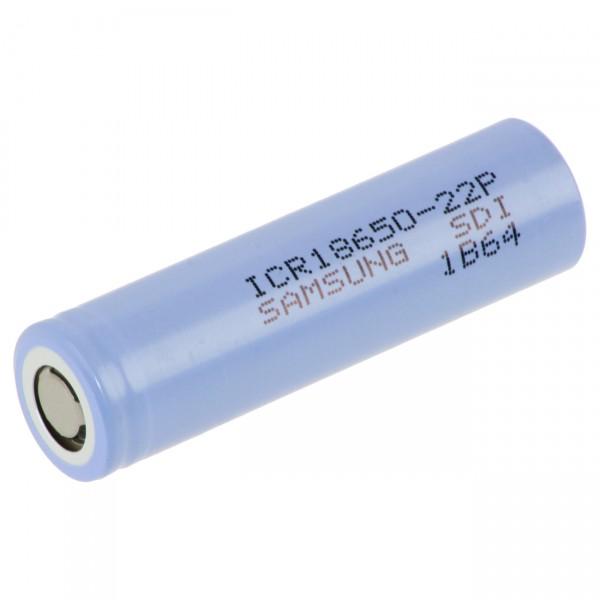 Samsung ICR18650-22P NMC Akku - 3,6V / 2150mAh - Lithium 18650 Akkus