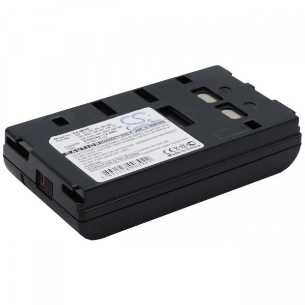 Ersatzakku - 6,0V / 2100mAh / NIMH - Akku für Panasonic / JVC / SONY / Orion B20256 / V208
