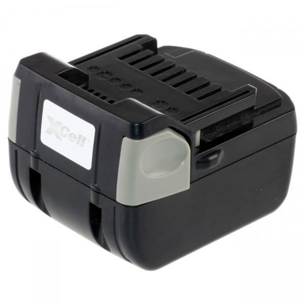 XCell Werkzeugakku für Hitachi Li-Ion BSL1430 - 14,4V / 3000mAh - 14,4 Volt PREMIUM Werkzeugakku