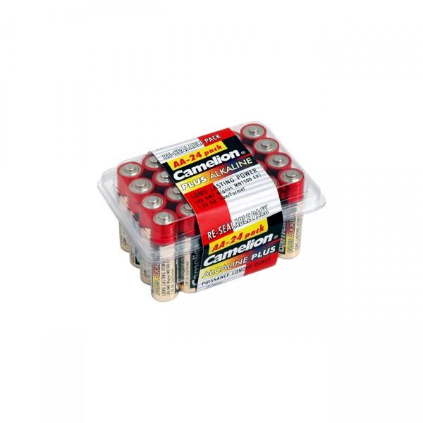 Camelion LR6 Plus Alkaline Mignon Batterie 24er Box
