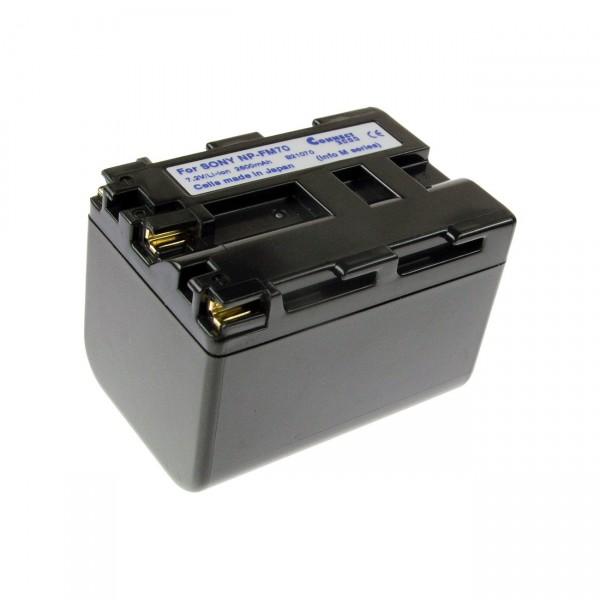 Videoakku Li-Ion 7,4V / 3200mAh für Sony NP-FM70 B21070