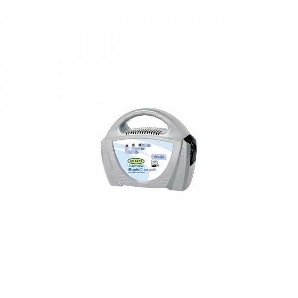Ring Automotive BasicCharge4 Lader 12V 4A - Bleisäure Verpolschutz