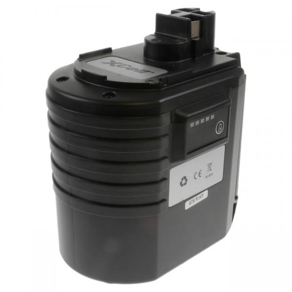 XCell Werkzeug-Akku für Bosch - 24V / 3000mAh NIMH - 24 Volt - PREMIUM Werkzeugakku